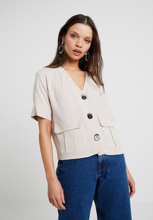 CHARLIE DOWN - Blouse - stone
