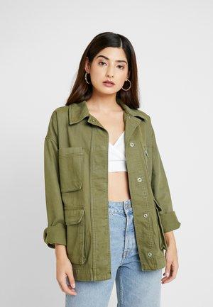 FREYA SHACKET - Summer jacket - khaki