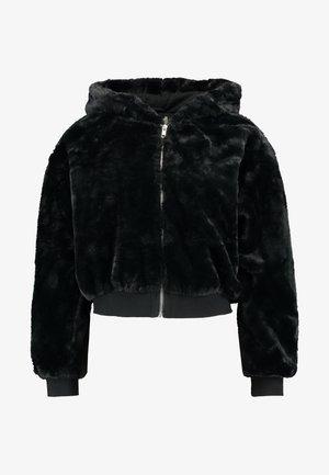 ZIP HOODY - Zimní bunda - black