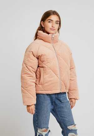 DIAMOND PUFFER - Bomber bunda - blush
