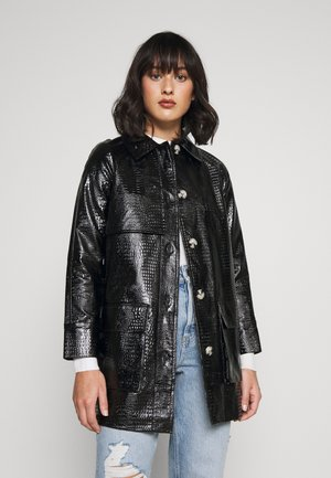 CHARLIE SHACKET - Short coat - black