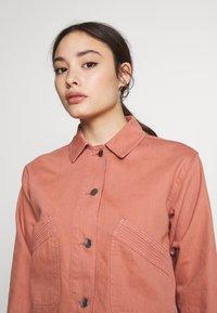 Topshop Petite - MISH - Denim jacket - pink - 4