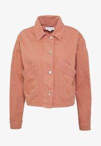 Topshop Petite - MISH - Denim jacket - pink - 3