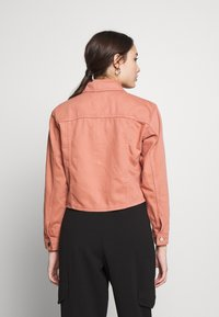 Topshop Petite - MISH - Denim jacket - pink - 2