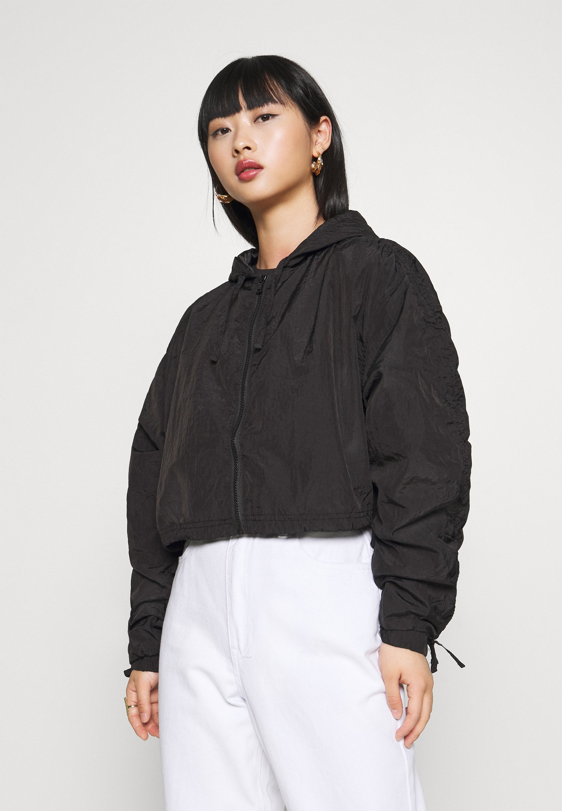 Topshop Petite JOAN - Bomberjacke - black | Damenbekleidung billig