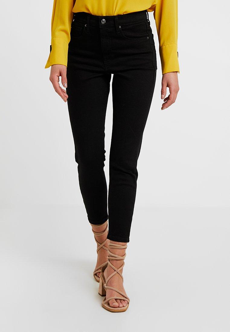 Topshop Petite - NEW WASH JAMIE - Jeans Skinny - black