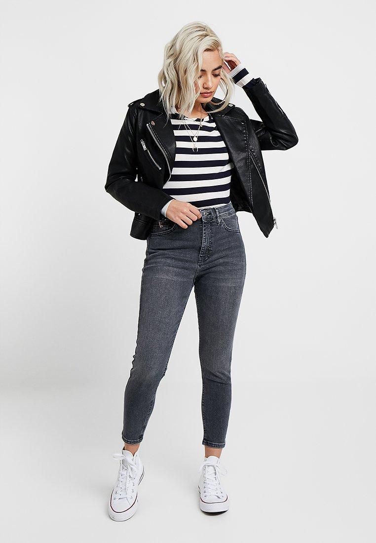 Topshop Petite NEW WASH JAMIE Jeans Skinny black denim