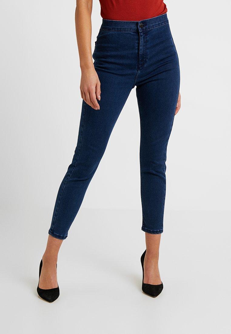 Topshop Petite - NEW WASH JONI - Jeans Skinny - indigo