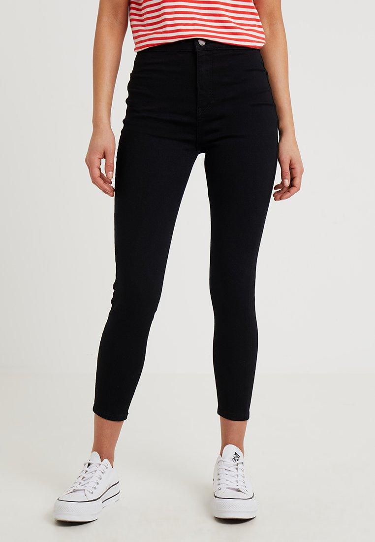 Topshop Petite - NEW WASH JONI - Jeans Skinny - black