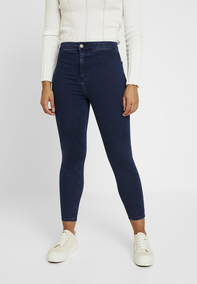 Topshop Petite - HOLDING POWER - Jeans Skinny Fit - indigo