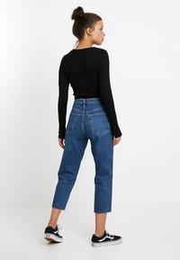Topshop Petite - Straight leg jeans - blue denim - 2