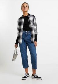 Topshop Petite - Straight leg jeans - blue denim - 1