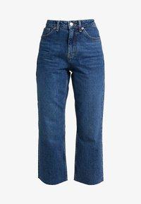 Topshop Petite - Straight leg jeans - blue denim - 4