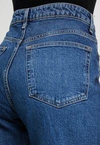 Topshop Petite - Straight leg jeans - blue denim - 5