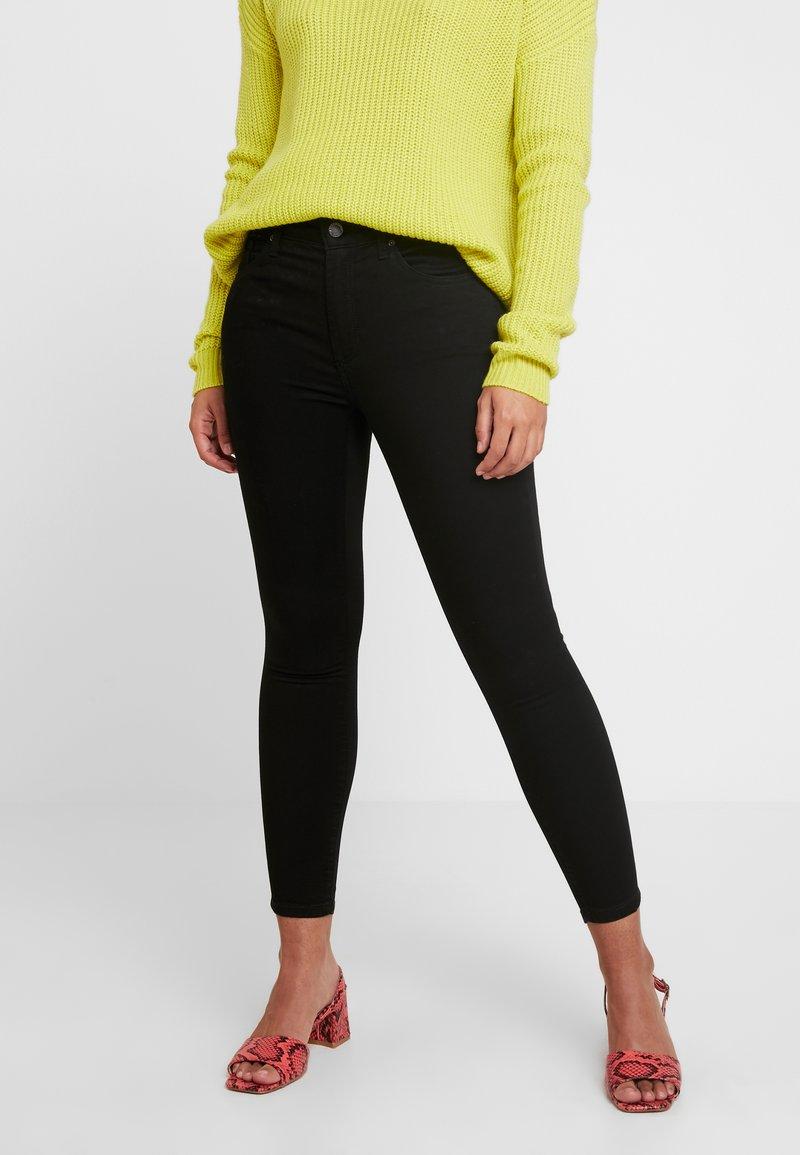 Topshop Petite - Jeans Skinny Fit - black