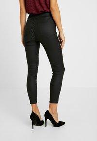 Topshop Petite - JONI - Trousers - black - 3