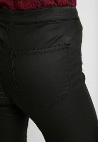 Topshop Petite - JONI - Trousers - black - 4