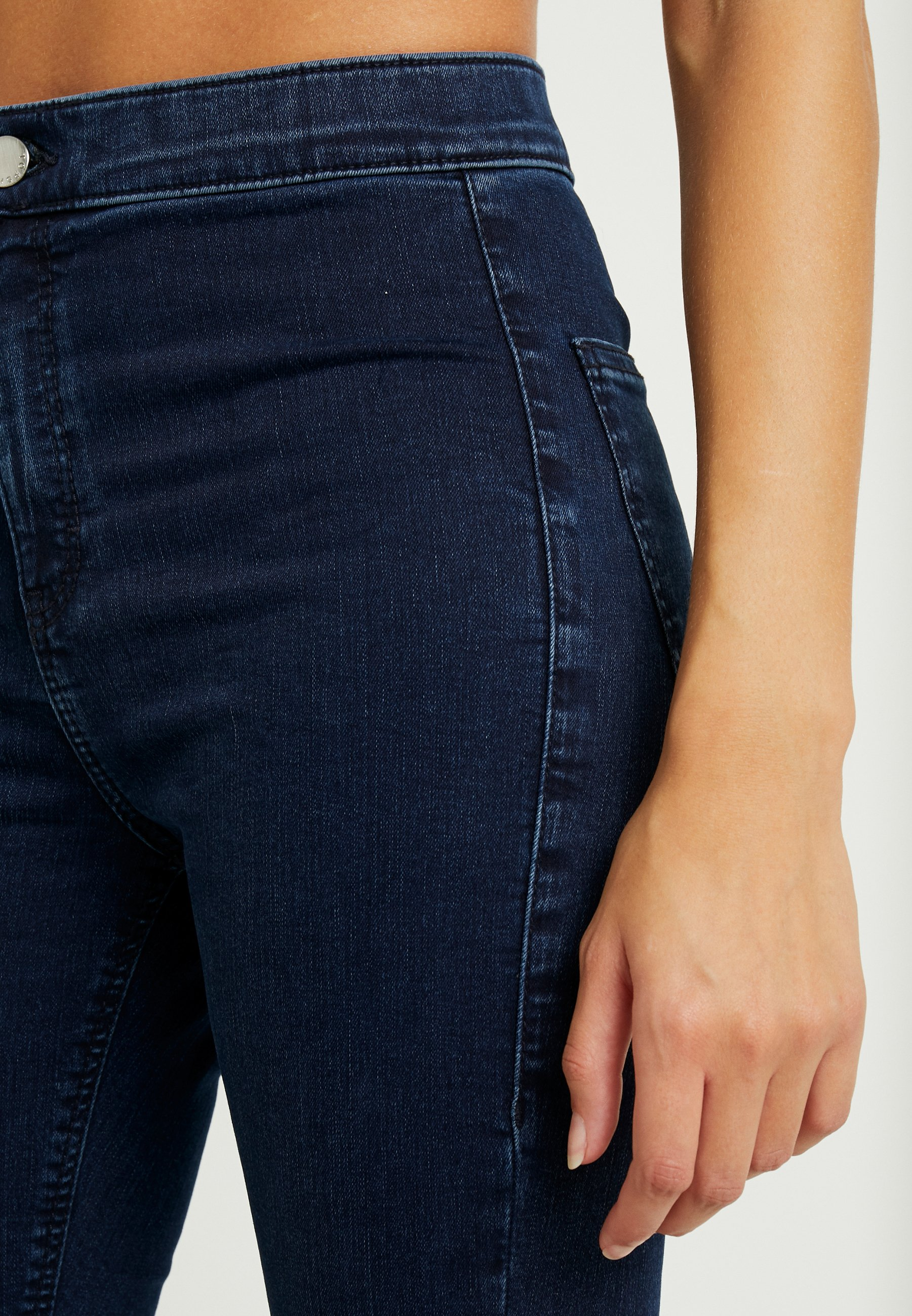 Topshop Petite Joni Clean - Jeans Skinny Fit Indigo