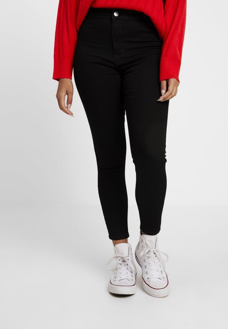 Topshop Petite - JONI - Jeans Skinny - pure black
