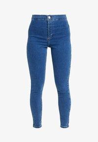 Topshop Petite - JONI CLEAN - Jeans Skinny Fit - blue denim - 3