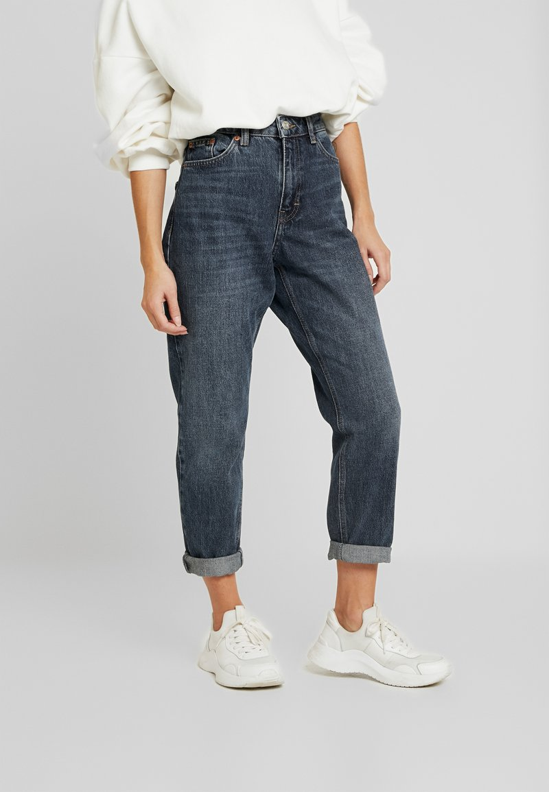 Topshop Petite - MOM CLEAN - Jeans Relaxed Fit - rich