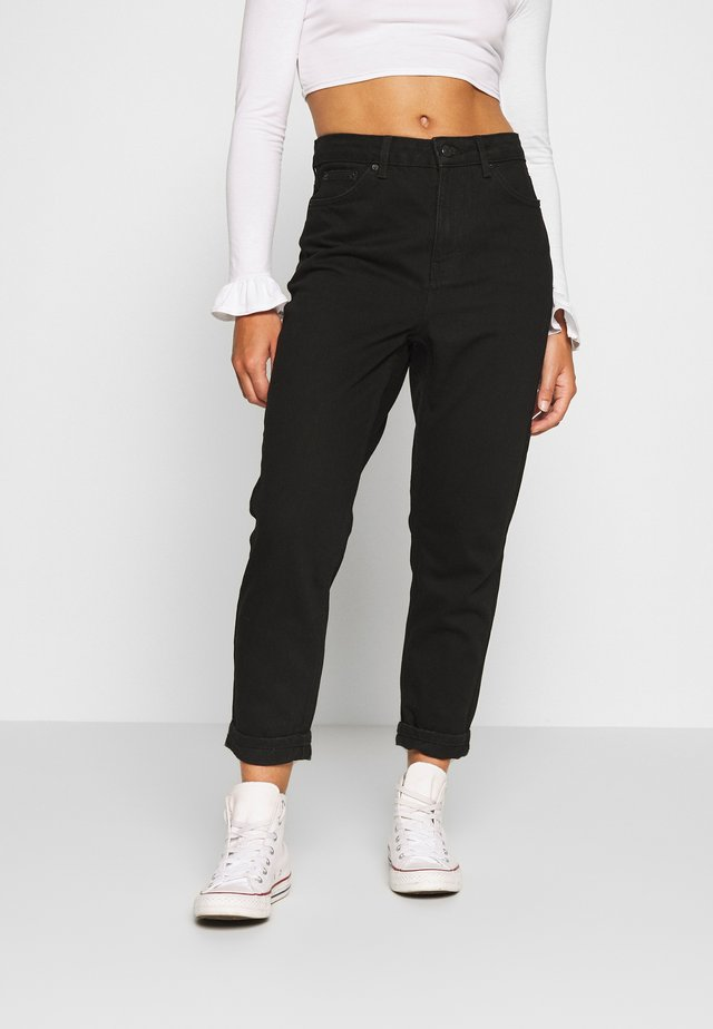 MOM CLEAN - Jeans Relaxed Fit - black
