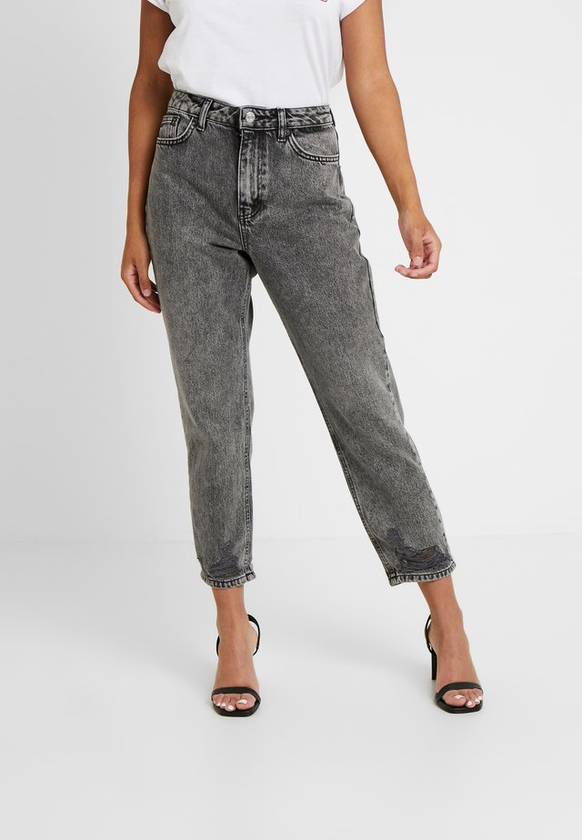 MOM - Jeansy Relaxed Fit - grey