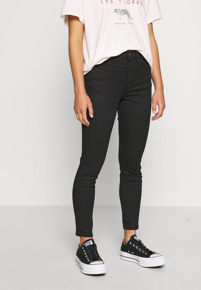 COATED CLEAN JAMIE - Jeansy Skinny Fit - black