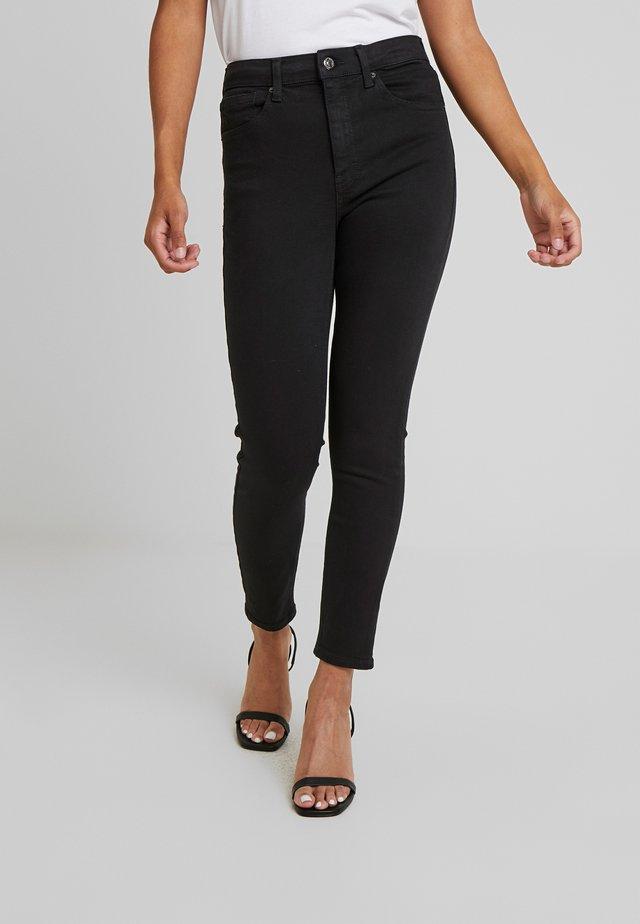 JAMIE CLEAN - Jeansy Skinny Fit - black