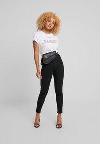 Topshop Petite - JONI CLEAN - Jeans Skinny Fit - black - 1