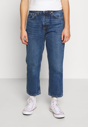 EDITOR - Jeansy Straight Leg - blue denim