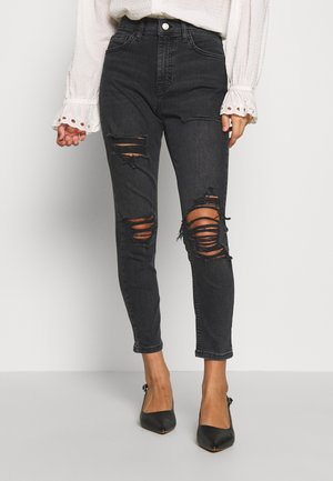 JAMIE SUPER  - Jeansy Skinny Fit - washed black