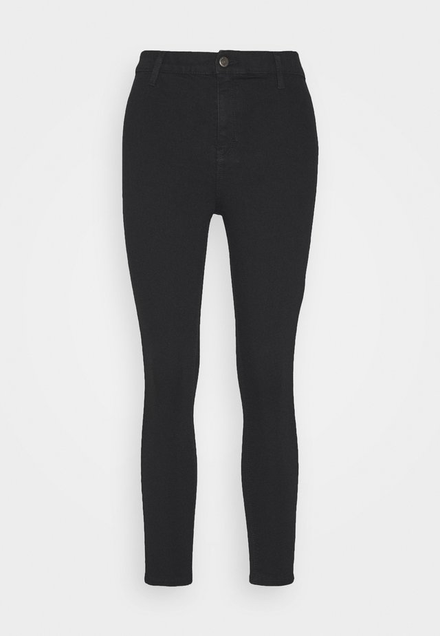JONI CLEAN - Spodnie materiałowe - black
