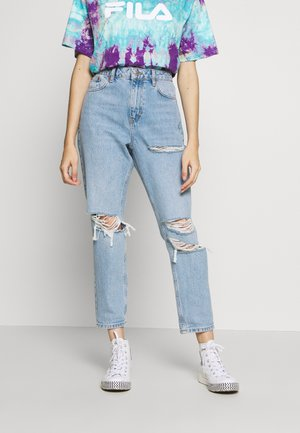 MOM TOKYO - Relaxed fit jeans - bleach