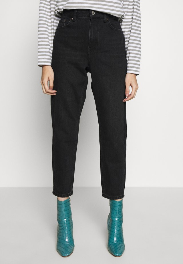 MOM CLEAN - Relaxed fit jeans - worn black