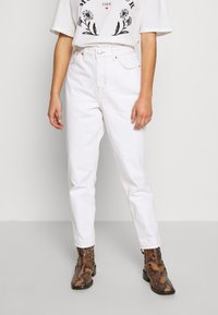 Topshop Petite - MOM CLEAN  - Jeans Relaxed Fit - off white - 0