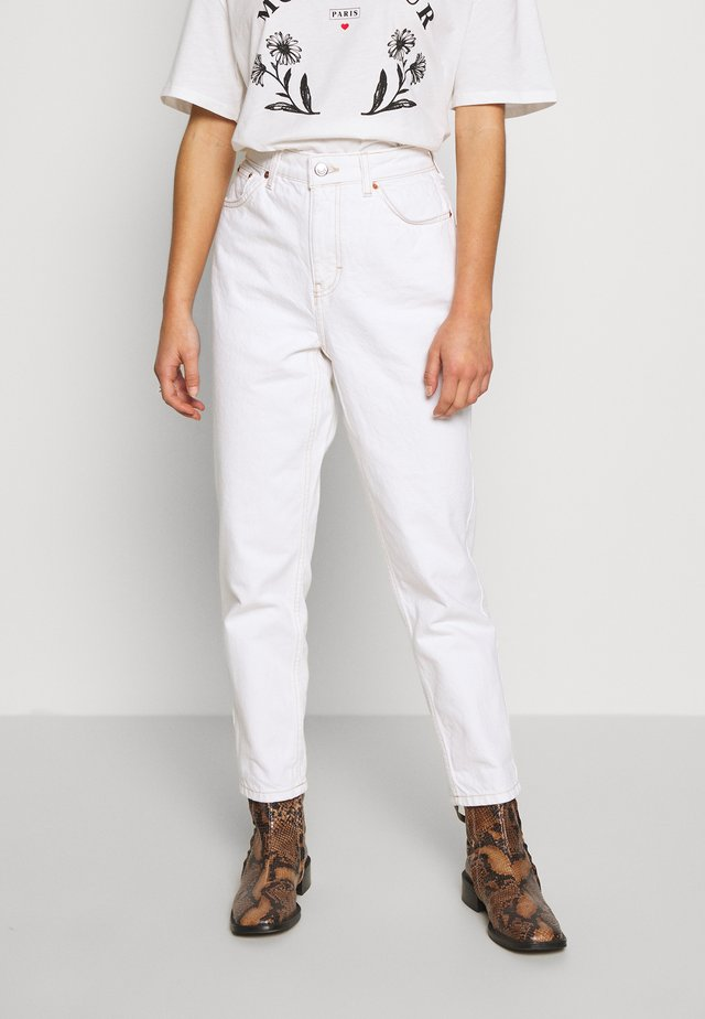 MOM CLEAN  - Jeans Relaxed Fit - off white
