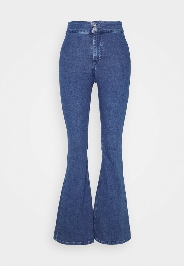 JONI  - Flared Jeans - blue
