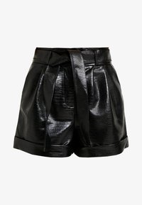 Topshop Petite - CROC - Shortsit - black - 4