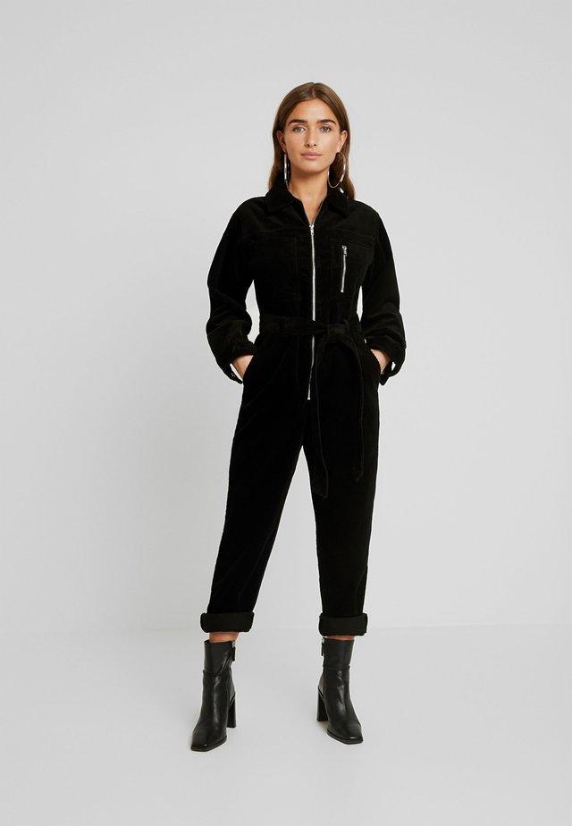 ZIP BOILER - Jumpsuit - black
