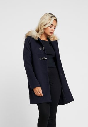 PATTY HOODED - Short coat - navy