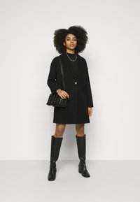 Topshop Petite - Classic coat - black - 1