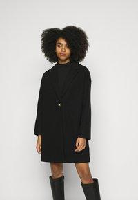 Topshop Petite - Classic coat - black - 0
