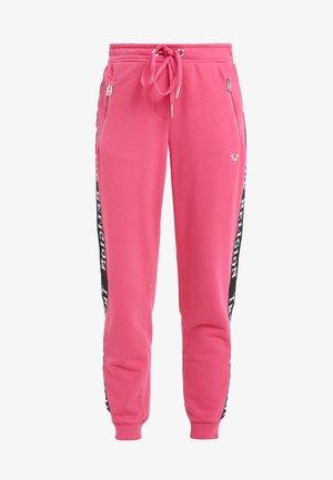 PANT TAPE BLACK - Spodnie treningowe - pink