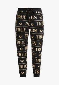 True Religion - PANTS - Tracksuit bottoms - black - 5