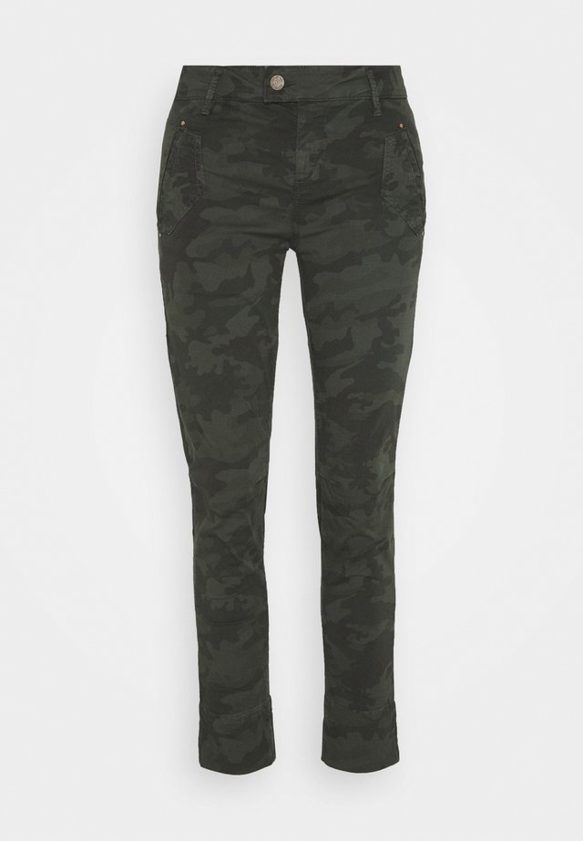 CAMO PANT - Trousers - olive