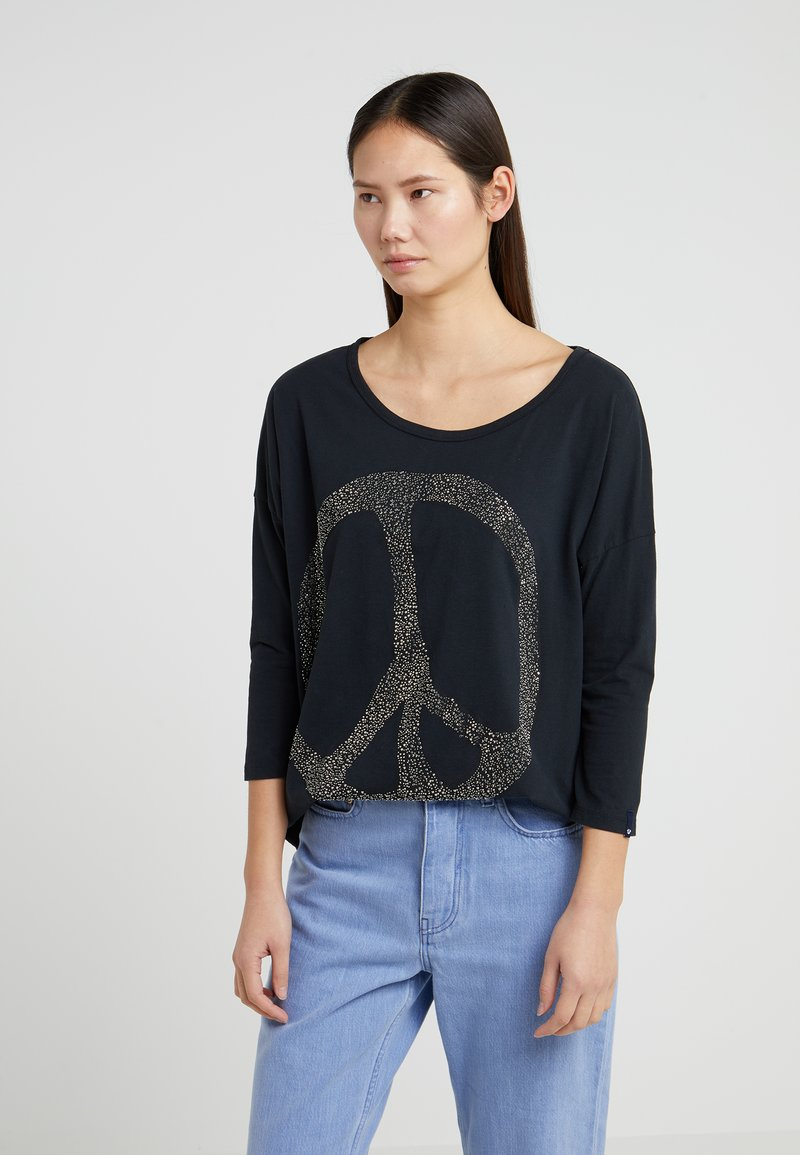 True Religion - PEACETEE - Long sleeved top - black
