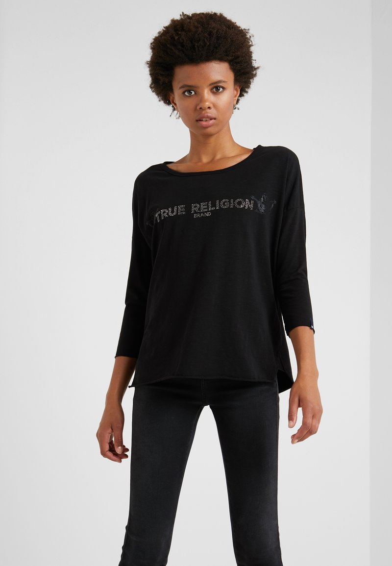 True Religion - Long sleeved top - black