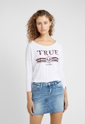 TRUCCI - Long sleeved top - white