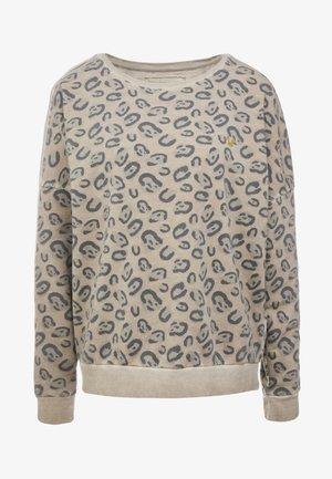 CREW  LEO AELLOVERPRINT  - Sweatshirt - beige